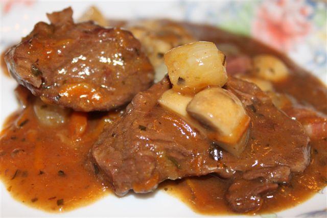 говядина с жареной картошкой рецепт фото