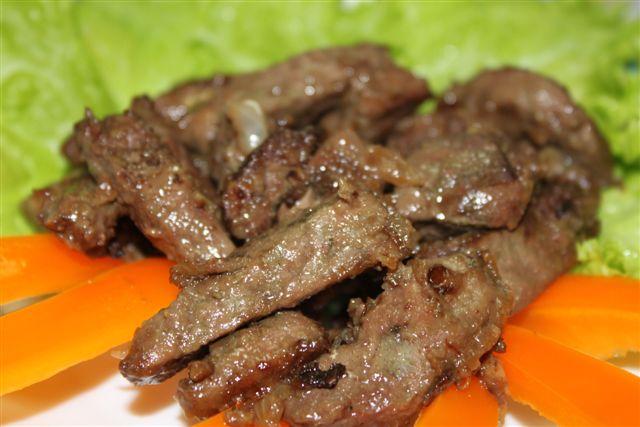 Жареная говяжья печень рецепты с фото пошагово